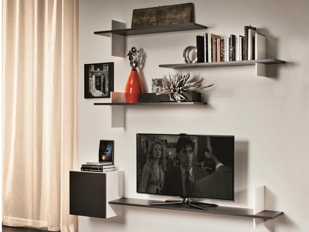 15 best collection of flat screen shelving. Black Bedroom Furniture Sets. Home Design Ideas