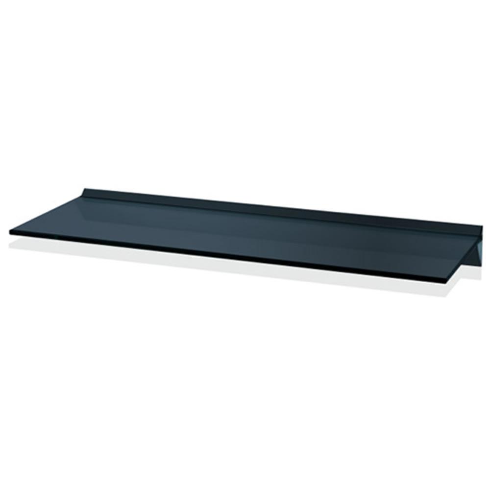 Floating Black Glass Shelves Gc810 Home Shelves Intended For Floating Black Glass Shelves (#6 of 12)