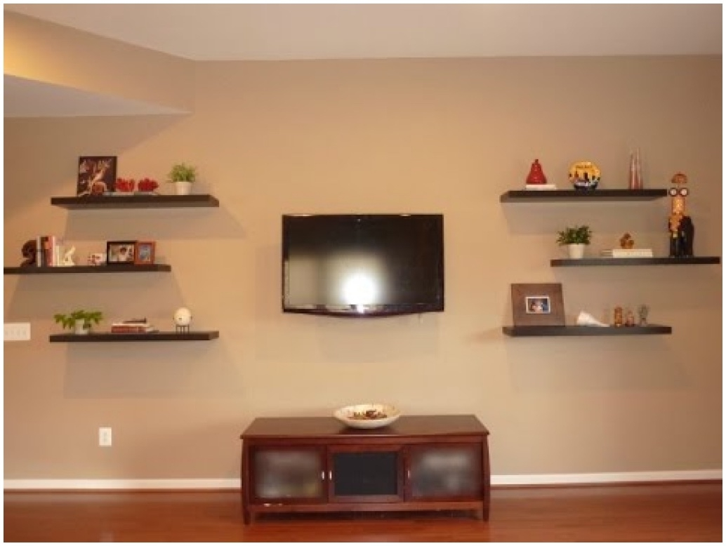 Floating Corner Shelf For Dvd Player Diy Floating Shelves Spackle For Corner Shelf For Dvd Player On Wall (#8 of 15)