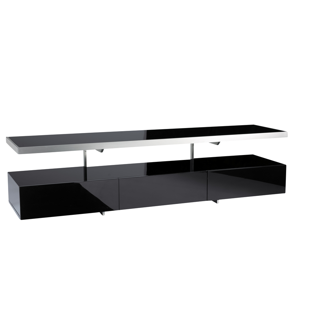 Floating Shelf Unit Intended For Black Glass Floating Shelves (View 11 of 12)