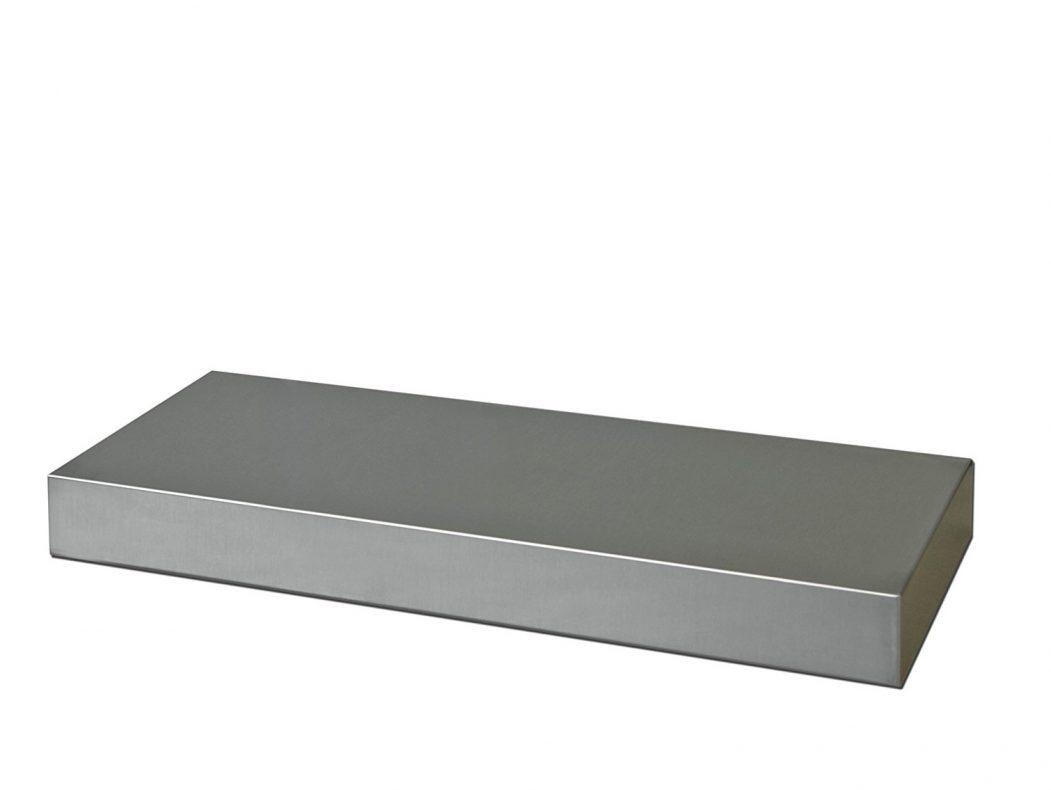 Floating Shelf White Best Stainless Steel Floating Shelves Rustic In 50cm Floating Shelf (#7 of 12)