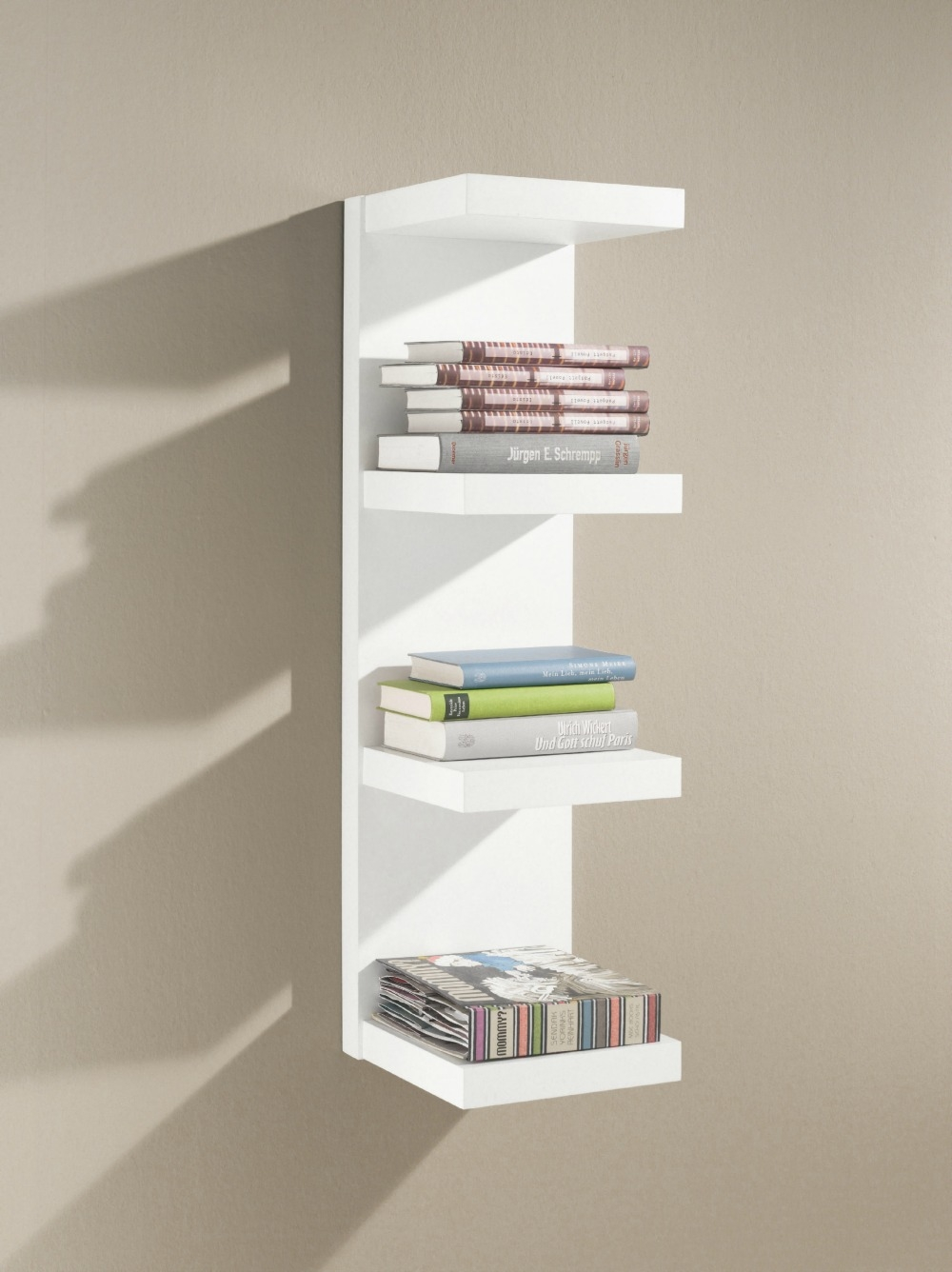 Floating Shelves Floating Wall Shelves In Great Variety Of Sizes In White Wall Shelves (View 9 of 15)