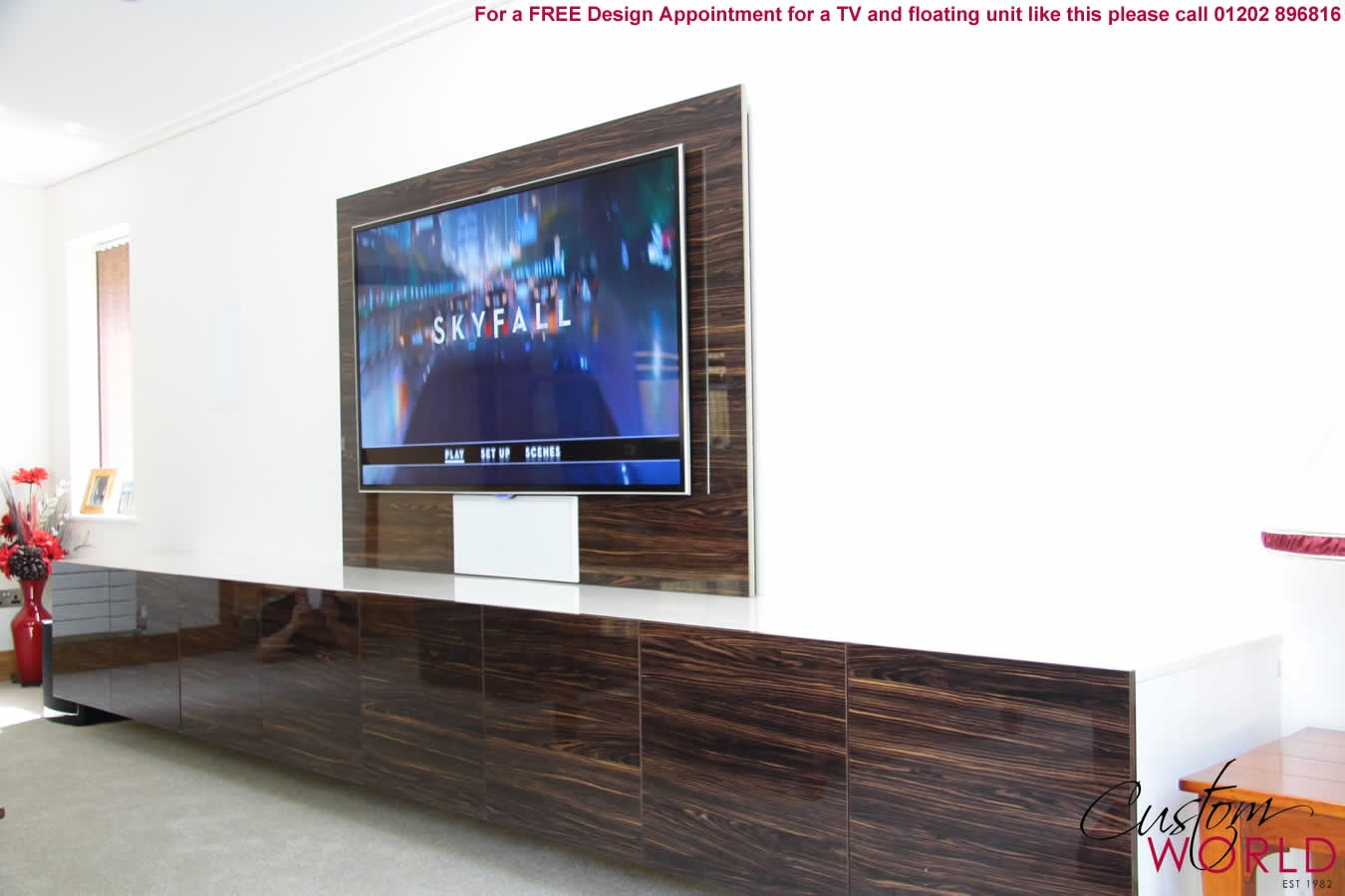 Floating Tv Unit Uk Google Search Tv Units Pinterest Regarding Tv Storage Units (#5 of 15)