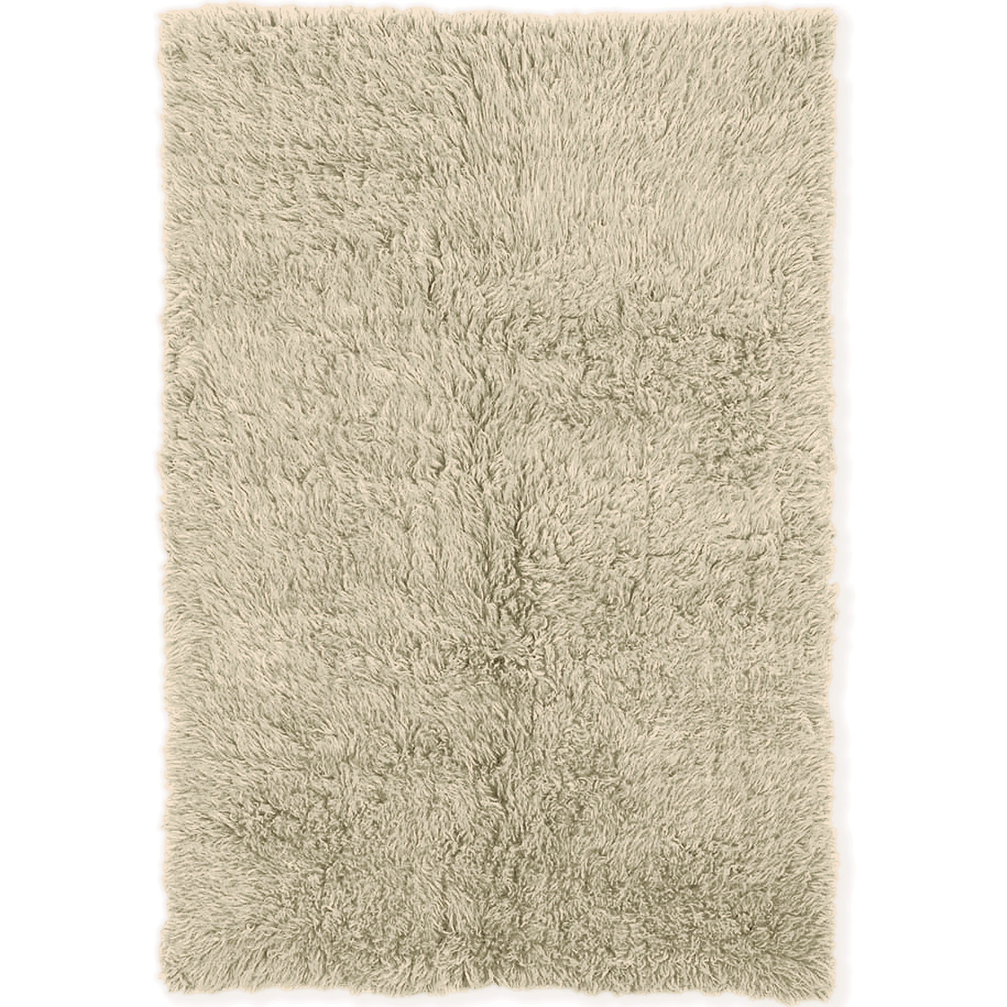 Flokati Shag Rug Roselawnlutheran Throughout Natural Wool Area Rugs (#3 of 15)