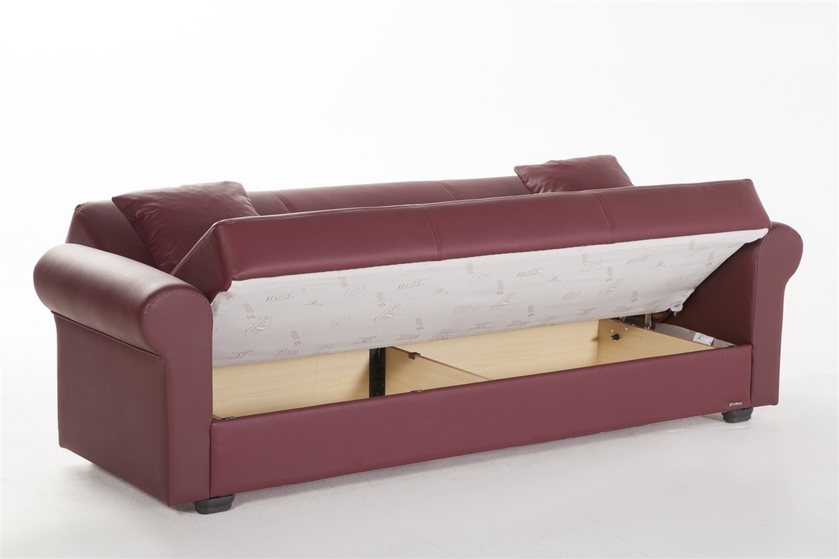 Floris Convertible Sofa Bed Istikbal In Escudo Brown Click Clack Inside Convertible Sofa Bed (#6 of 15)