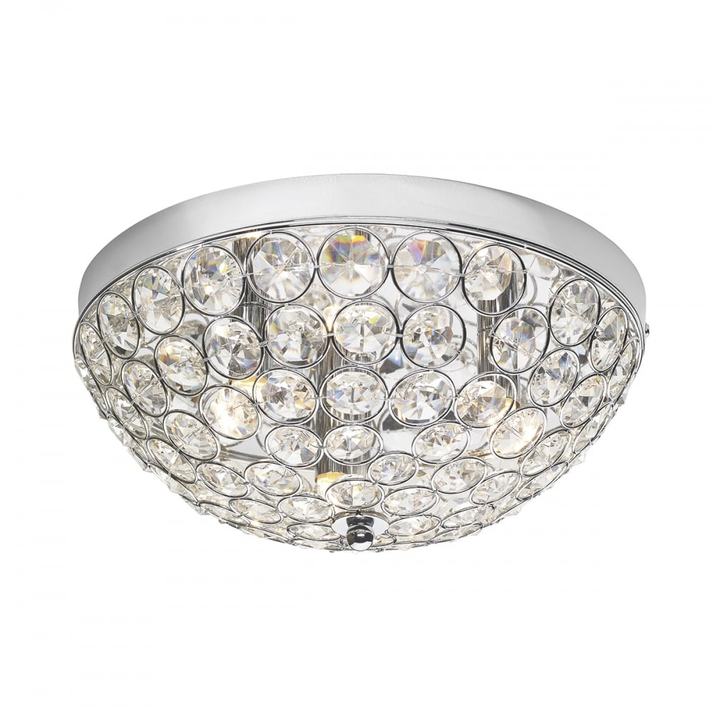 Flush Fitting Ceiling Lights Lina 8 Light Halogen Semiflush With Flush Fitting Chandeliers (#6 of 12)