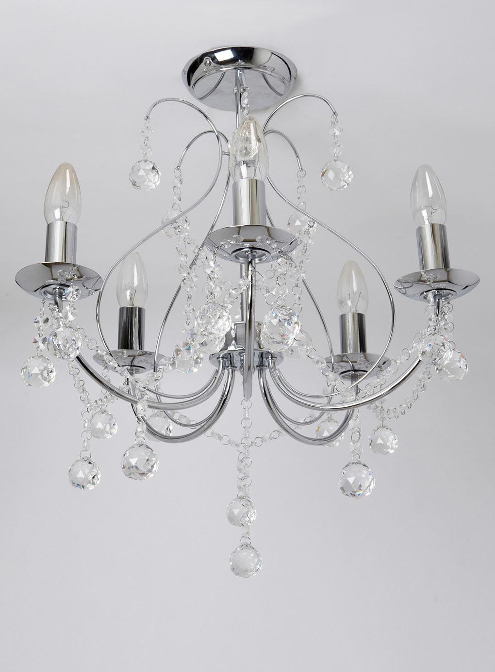 Flush Light Fittings For Living Room Grotly With Flush Fitting Chandelier (#5 of 12)