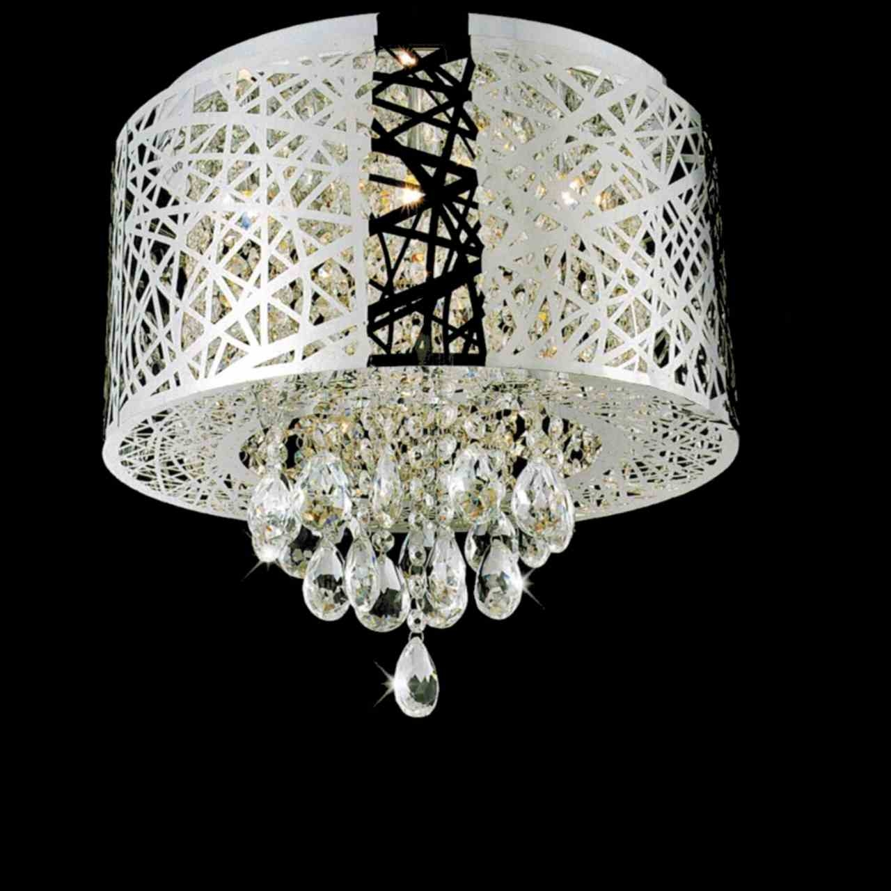 Flush Mount Chandelier Modern For Flush Chandelier (#6 of 12)
