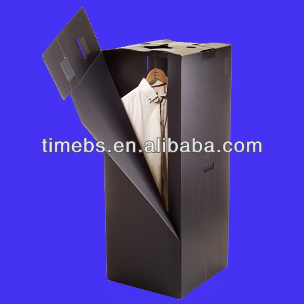 Folding Corrugated Plastic Wardrobes Box Buy Folding Corrugated Inside Plastic Wardrobe Box (#2 of 14)