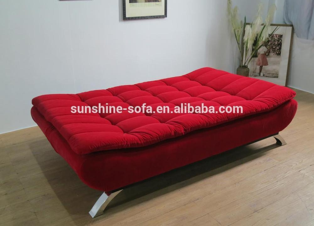 Folding Fold Down Sofa Bed With Cushion Sofa Set Furniture Design Regarding Cushion Sofa Beds (#8 of 15)