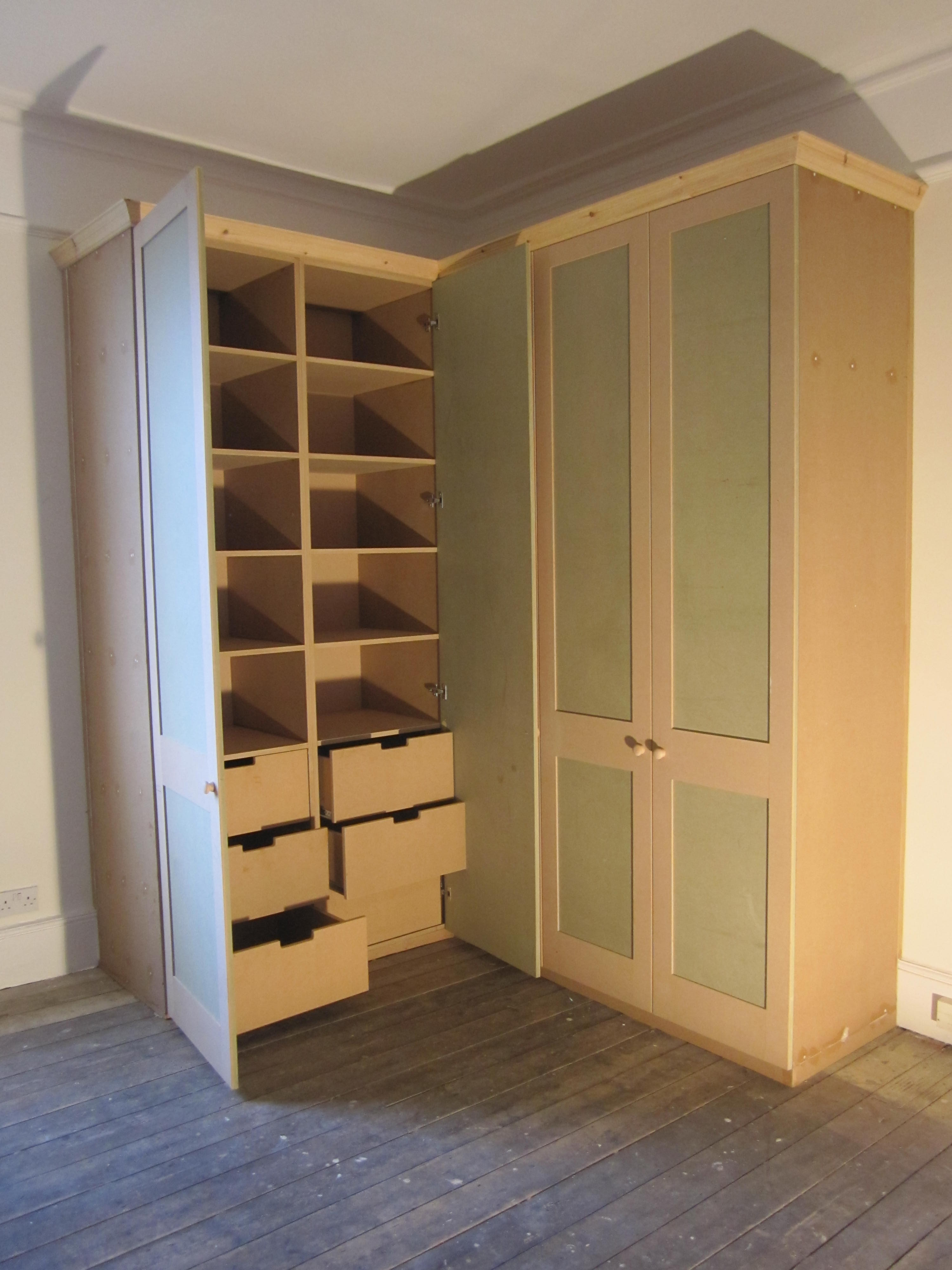 For Idea Of Drawer Shape Only Closets Pinterest Drawers And With Regard To Wardrobe With Shelves And Drawers (View 8 of 15)