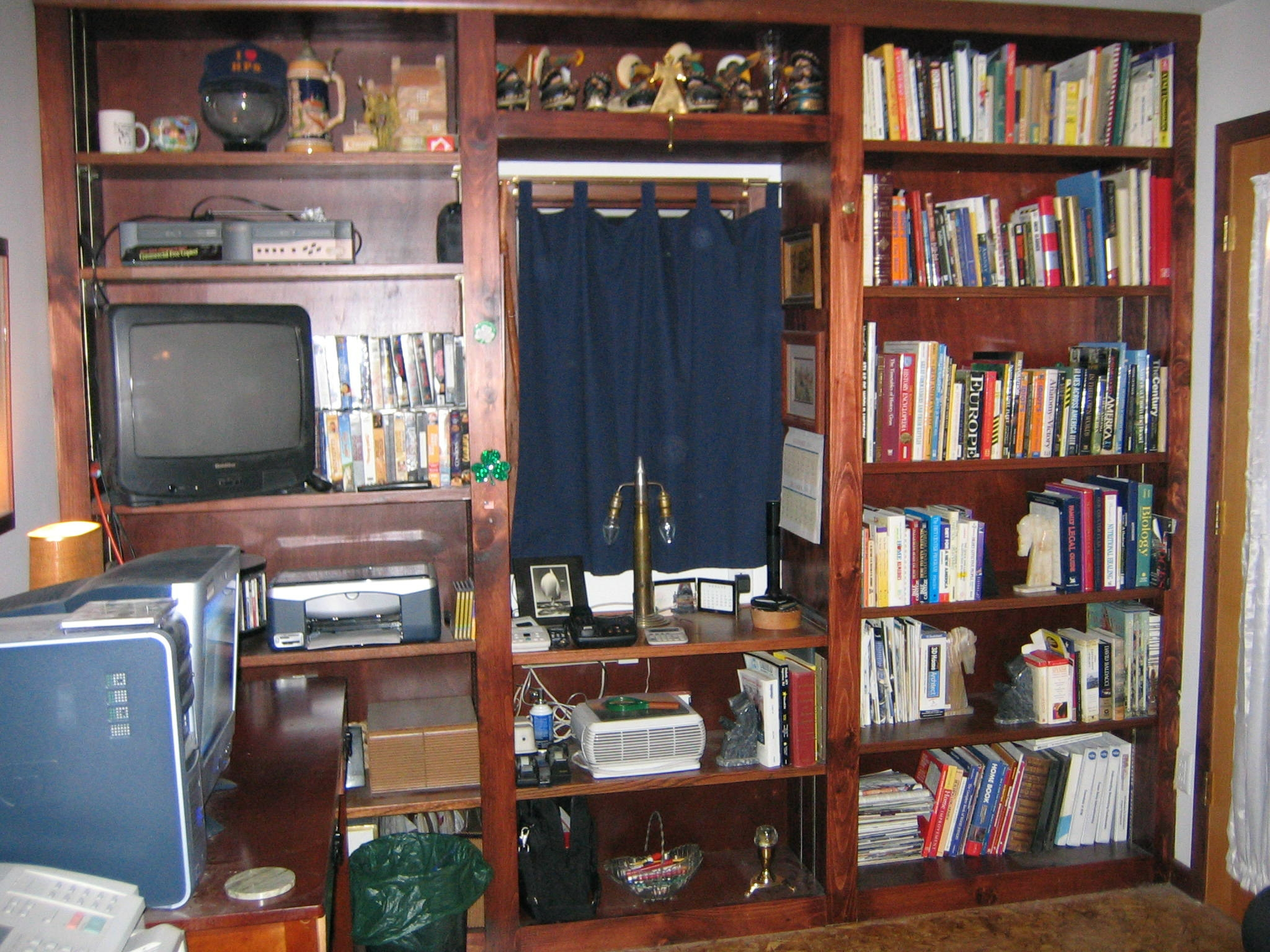 Free Bookcase Plans How To Build A Book Case Free Book Shelf Plans With Regard To Build Bookcase Wall (View 6 of 15)