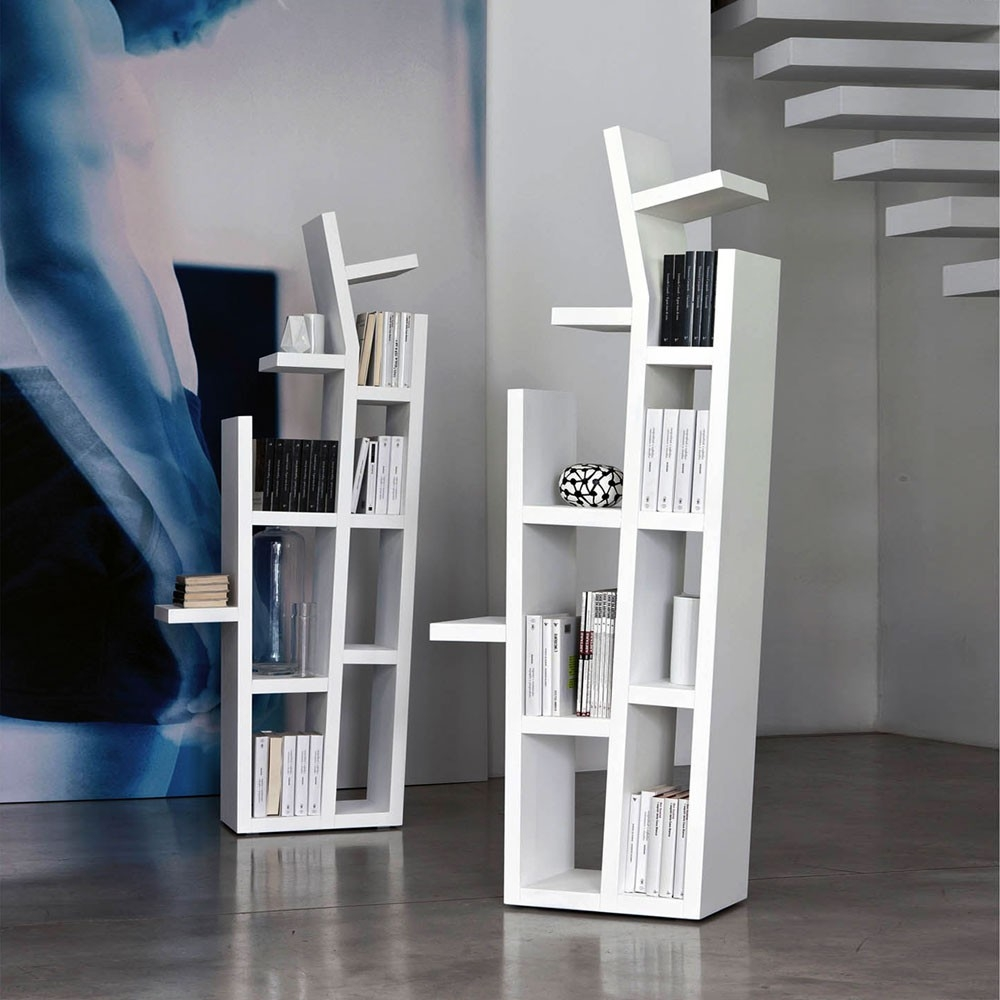 Free Standing Bookshelves Keeping Your Book Collections In Style Throughout Free Standing Bookshelves (#11 of 15)
