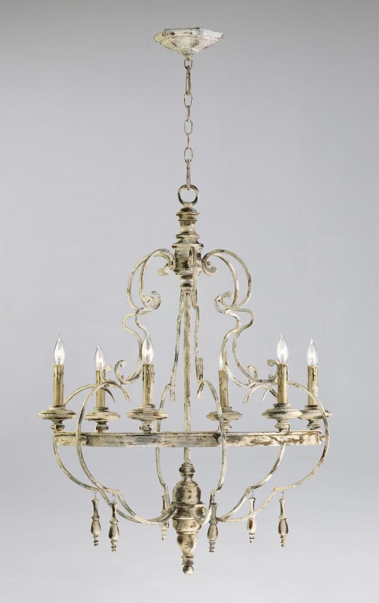 French Style Chandeliers French Style Chandeliers Gold Stained Within French Style Chandeliers (#8 of 12)