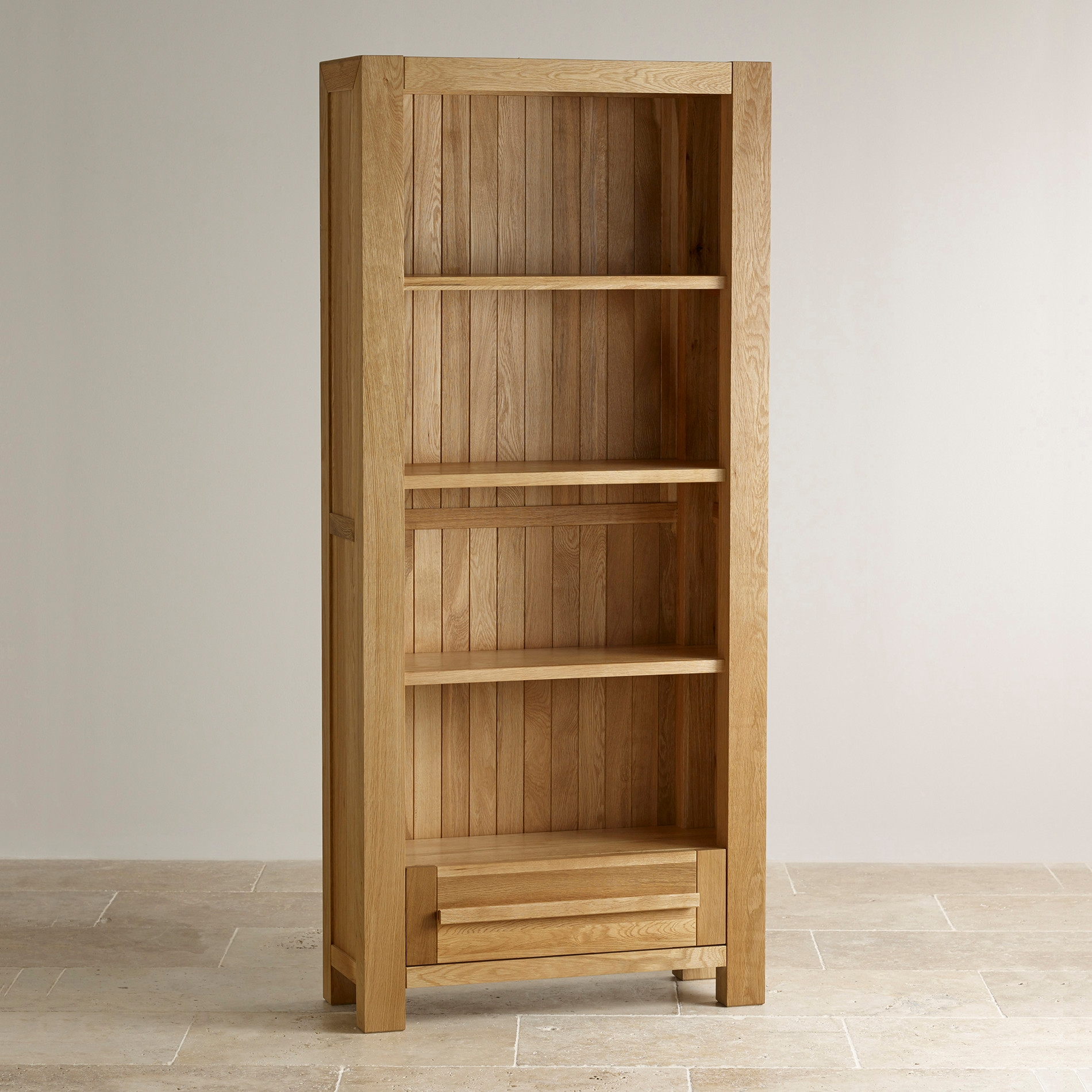 Popular Photo of Solid Oak Bookcase