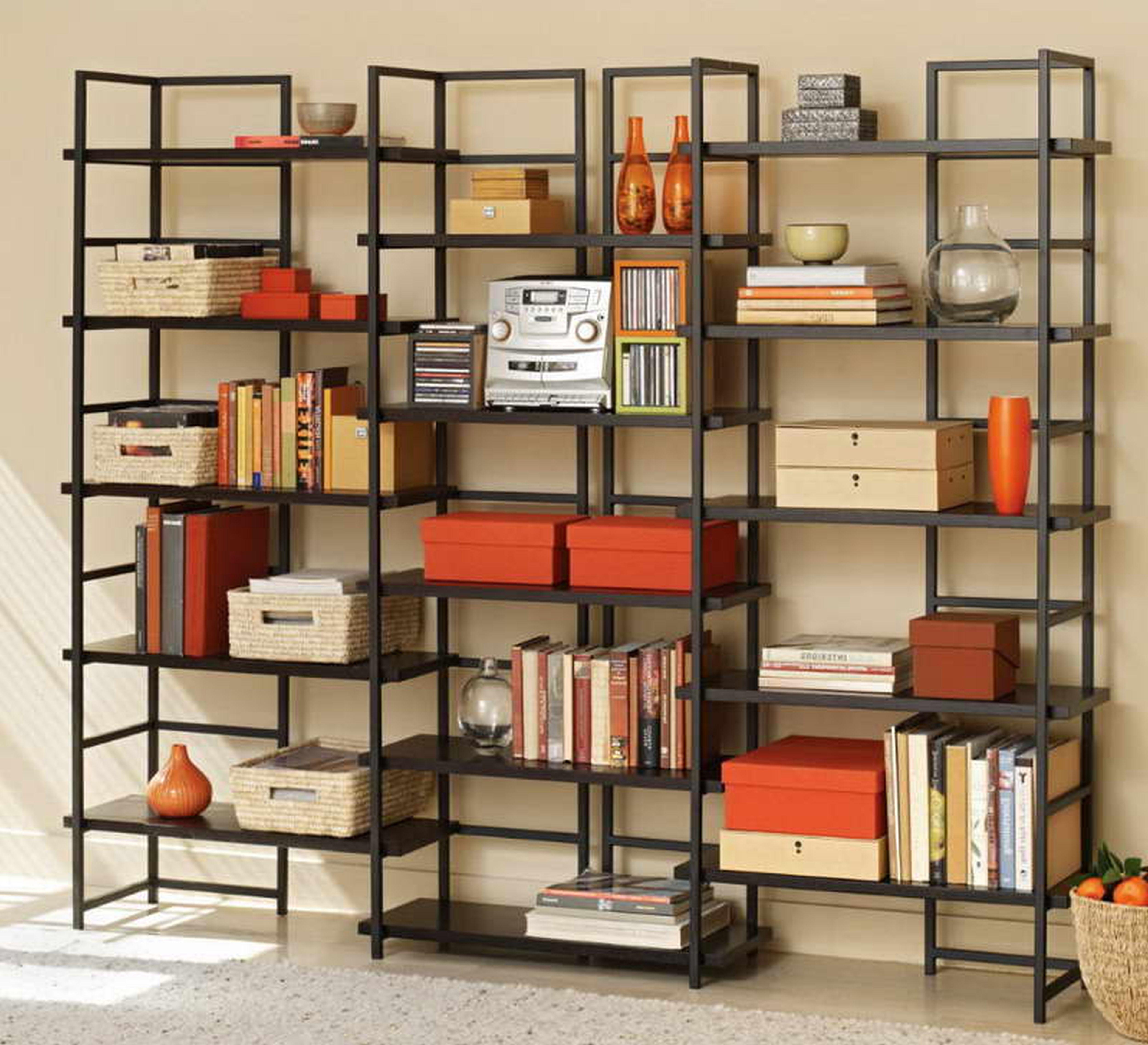 Fresh Full Wall Bookshelves Diy 7496 For Full Wall Bookshelf (View 4 of 11)