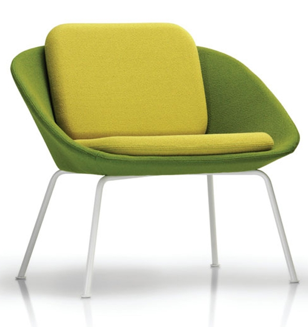 Popular Photo of Green Sofa Chairs