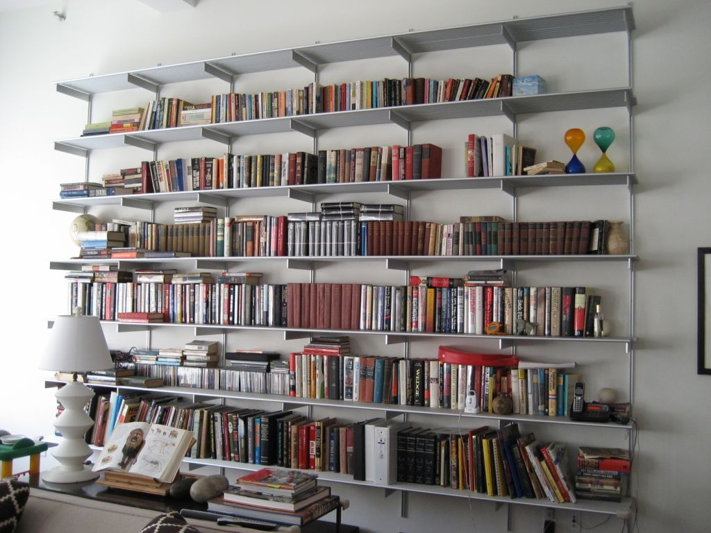 Furniture Appealing Bookshelves Target For Inspiring Interior Intended For Whole Wall Bookshelves (#6 of 15)