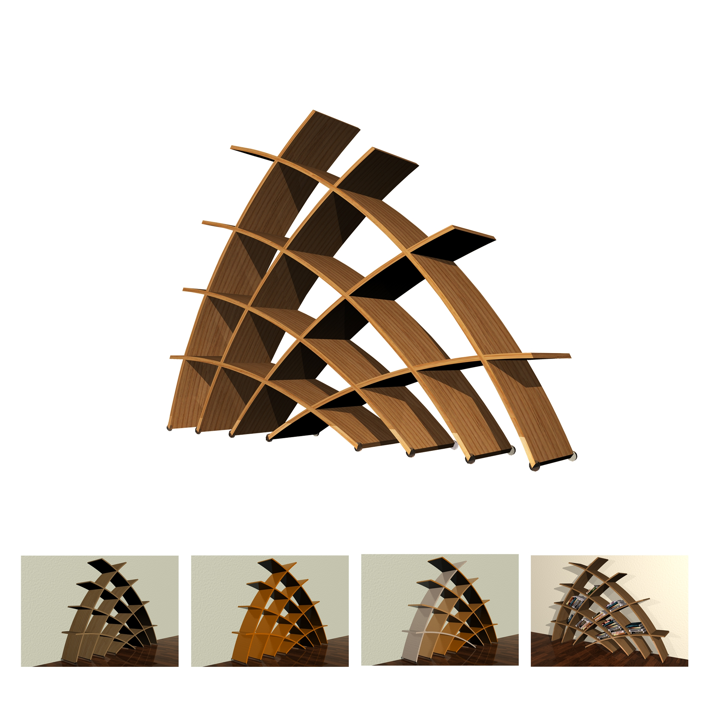 Furniture Design Camilla Fucili At Coroflot In Free Standing Book Shelf (#9 of 15)