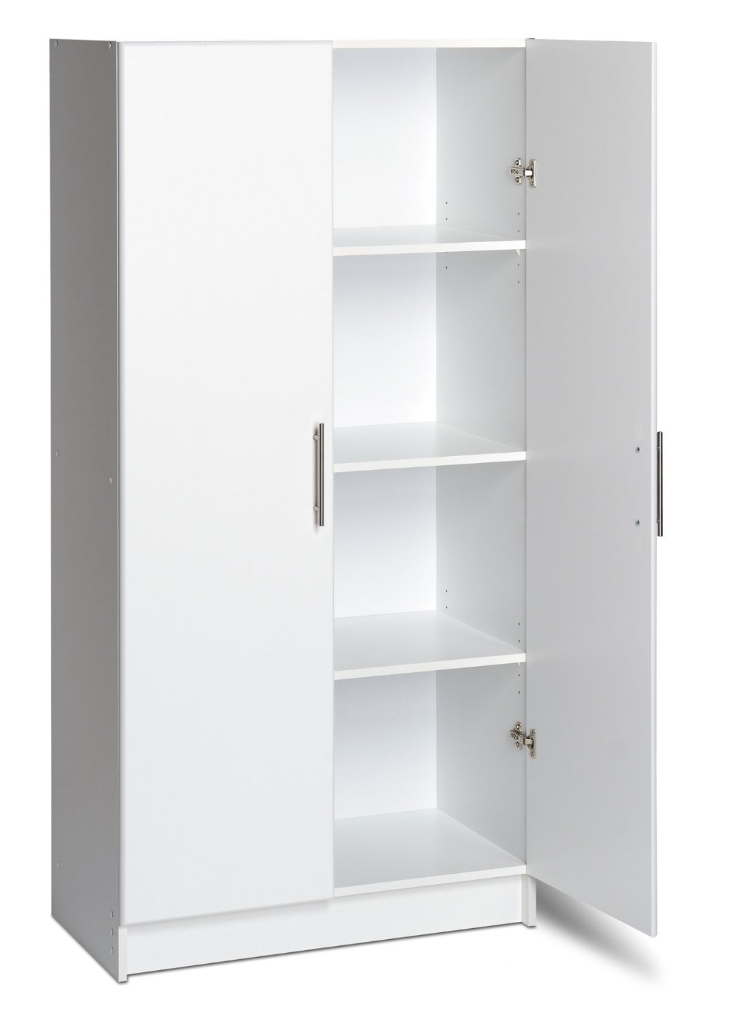 Furniture Elegant Design Of Storage Needs With Freestanding Throughout Free Standing White Shelves (#7 of 15)