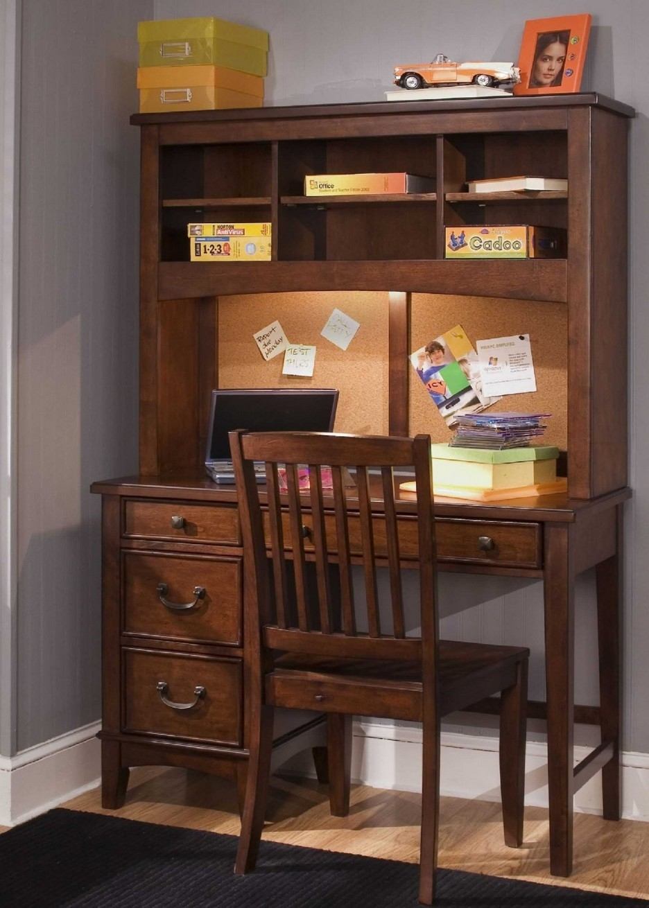 Furniture Inspiring Study Desk Design Ideas With Leaning Within Study Desk With Bookshelf (#6 of 15)