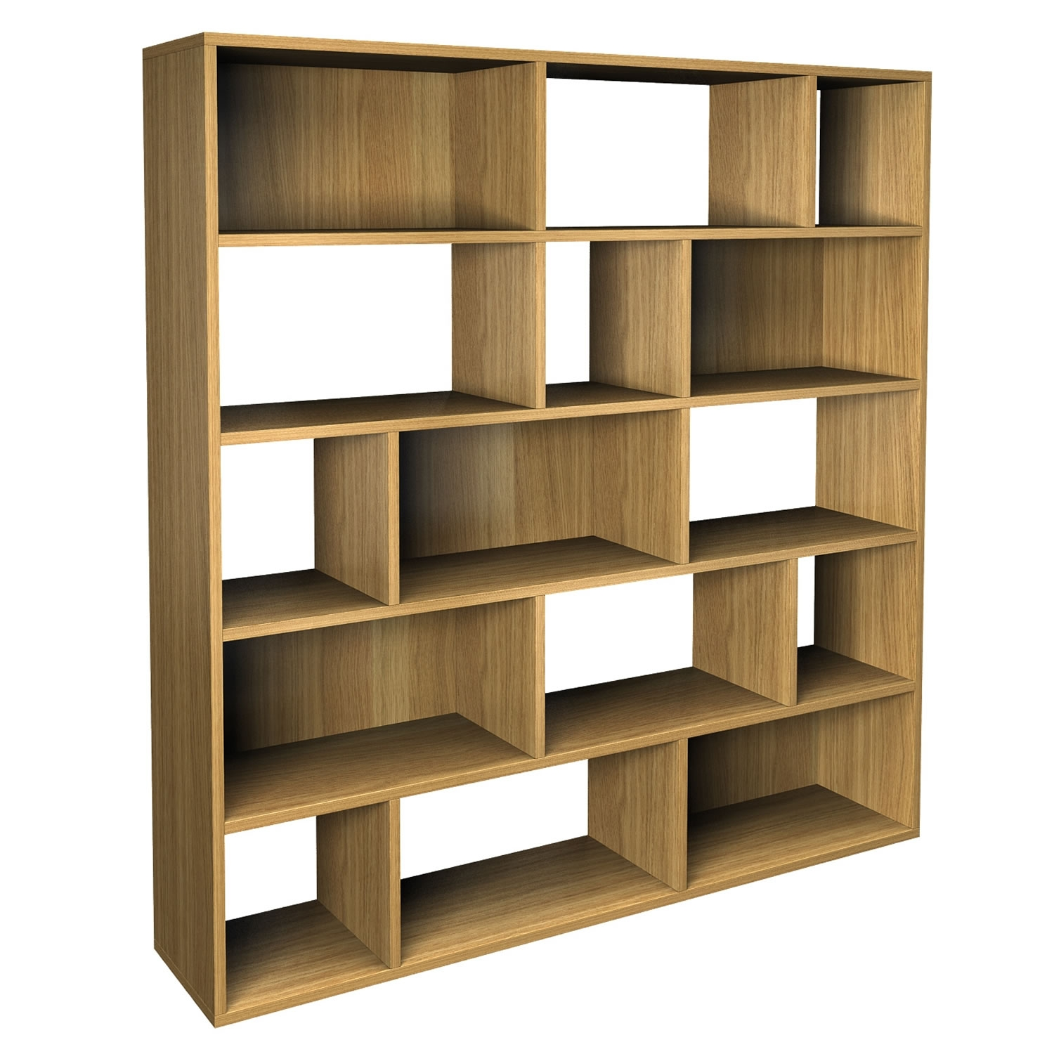 Furniture Simple Stylish Designs Pictures Of Creative Bookshelf In Contemporary Oak Bookcase (#11 of 15)
