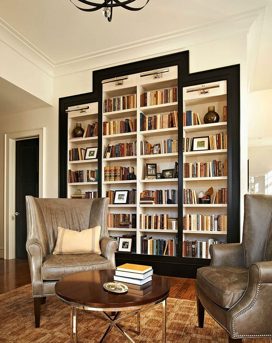 Furniture Wondrous Bookshelf Designs For Home Furniture Cool In Traditional Bookshelf Designs (#11 of 15)