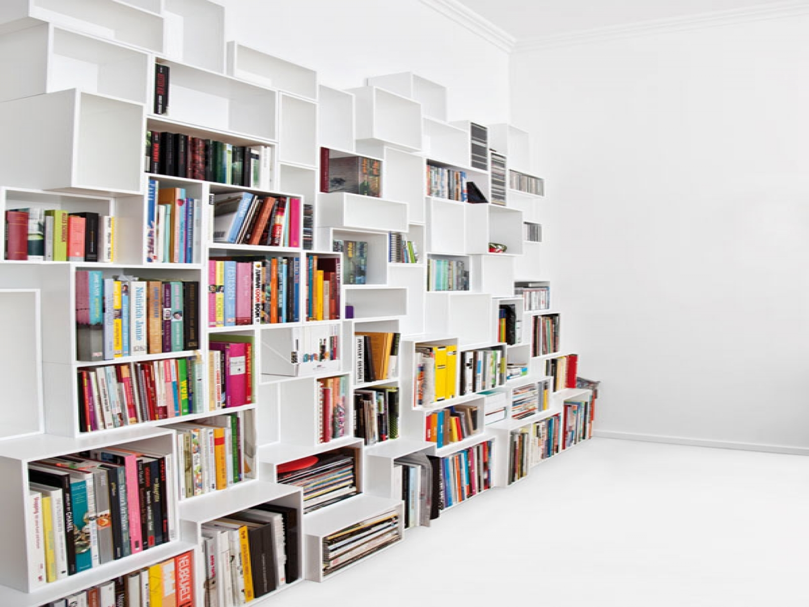 Furnitureamazing Modular Shelving Units Design Ideas With Large Throughout Book Shelving Systems (#11 of 15)