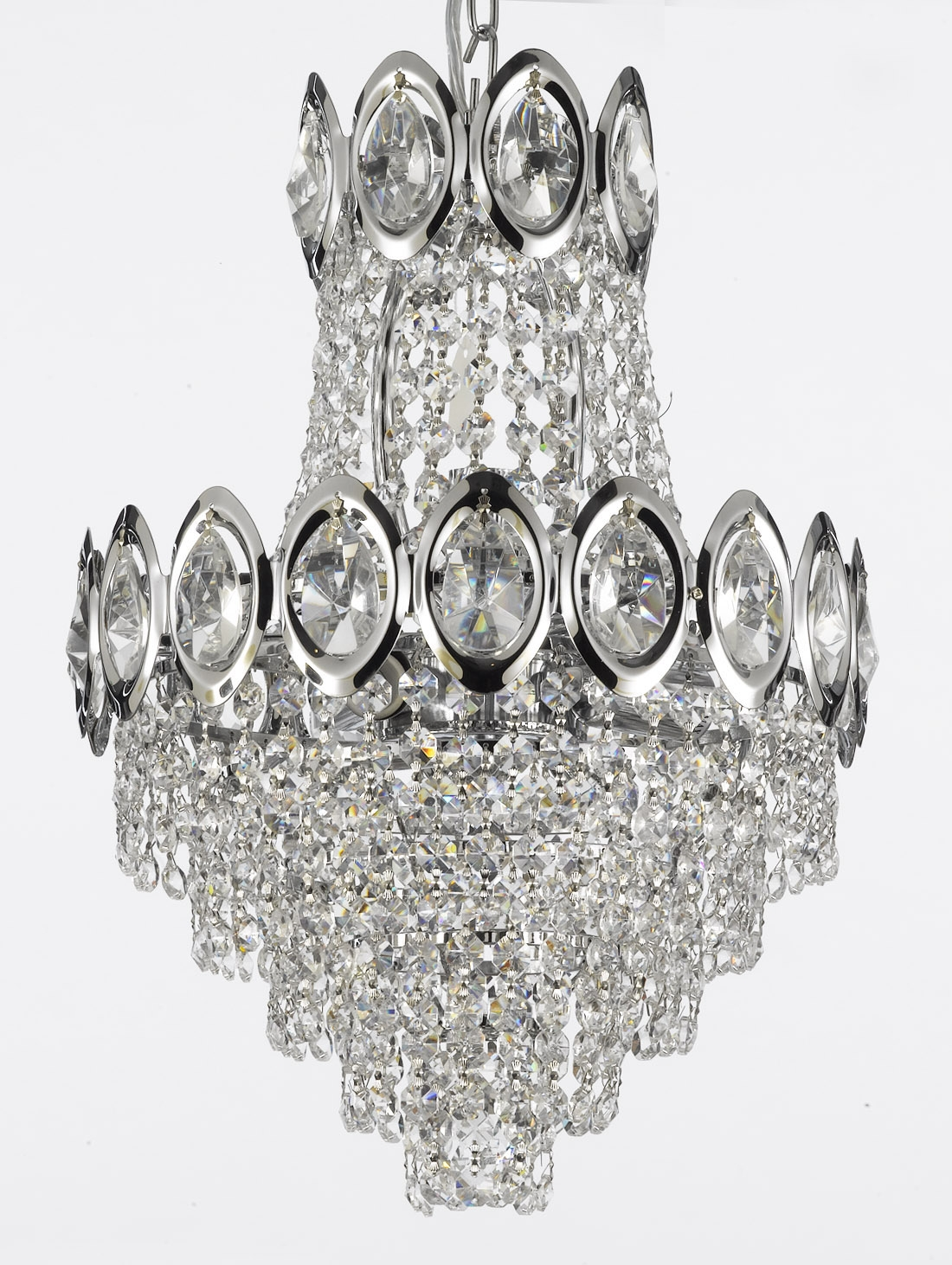 Gallery For Silver Chandeliers (#6 of 12)