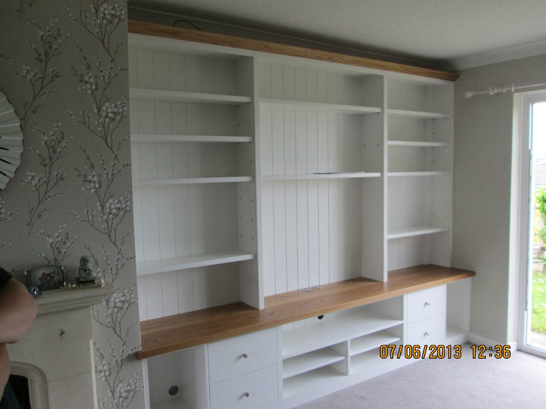 Gary West Bespoke Furniture For Fitted Wall Units Living Room (#9 of 15)