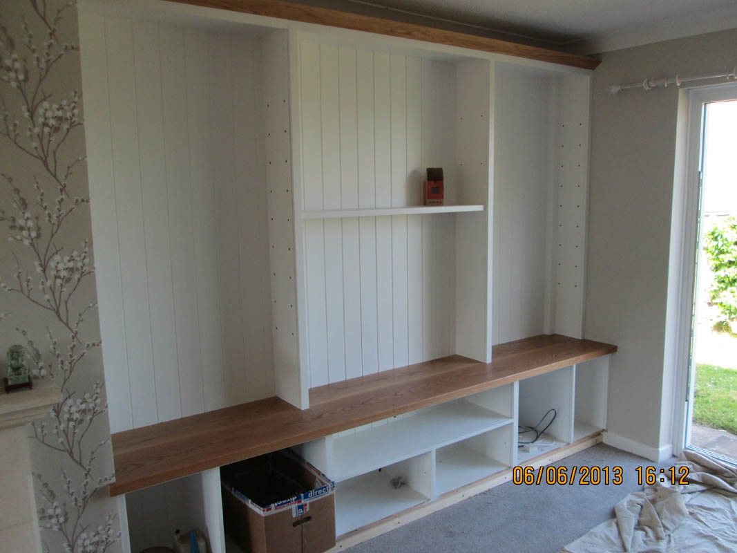 Gary West Bespoke Furniture In Living Room Fitted Cabinets (#12 of 15)