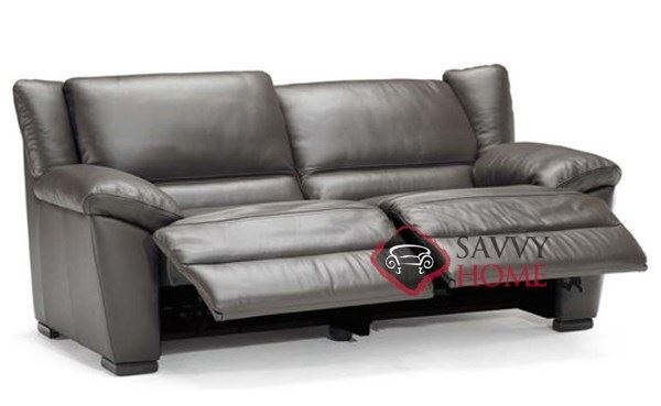 Genoa A319 Leather Sofa Natuzzi Is Fully Customizable You Throughout 2 Seater Recliner Leather Sofas (#7 of 15)