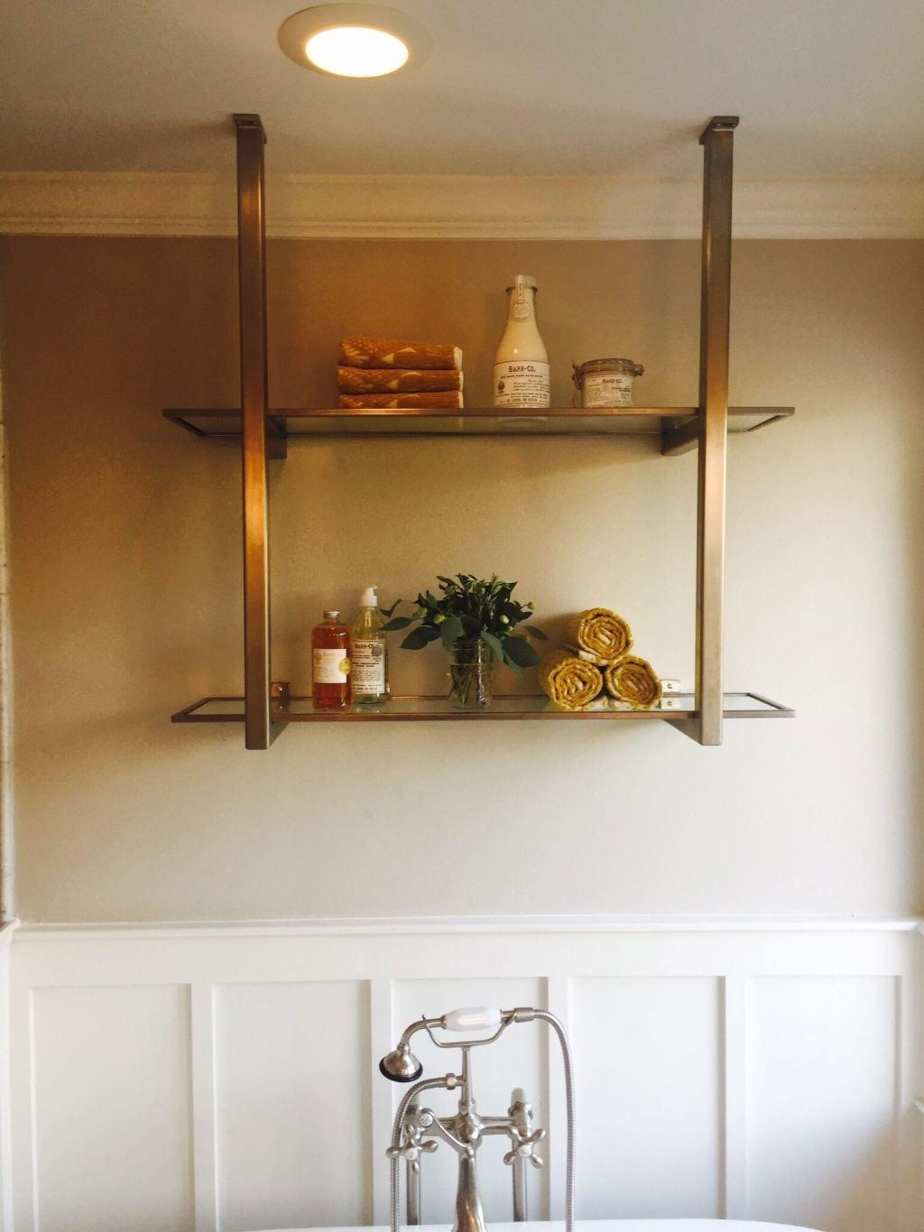 Glass Shelves 60 Cool Designs And Ideas To Decorate Home Decoo Intended For Suspended Glass Shelves (#4 of 15)