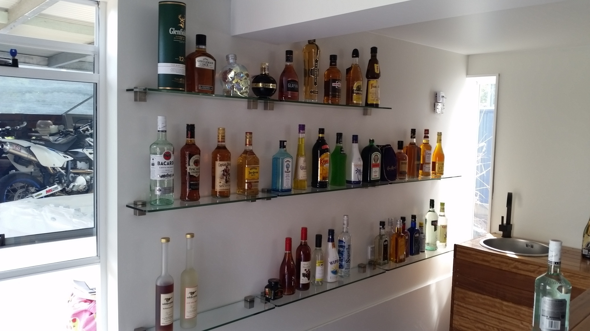 Viewing Photos of Glass Shelves for Bar Area (Showing 12 of 12 Photos)