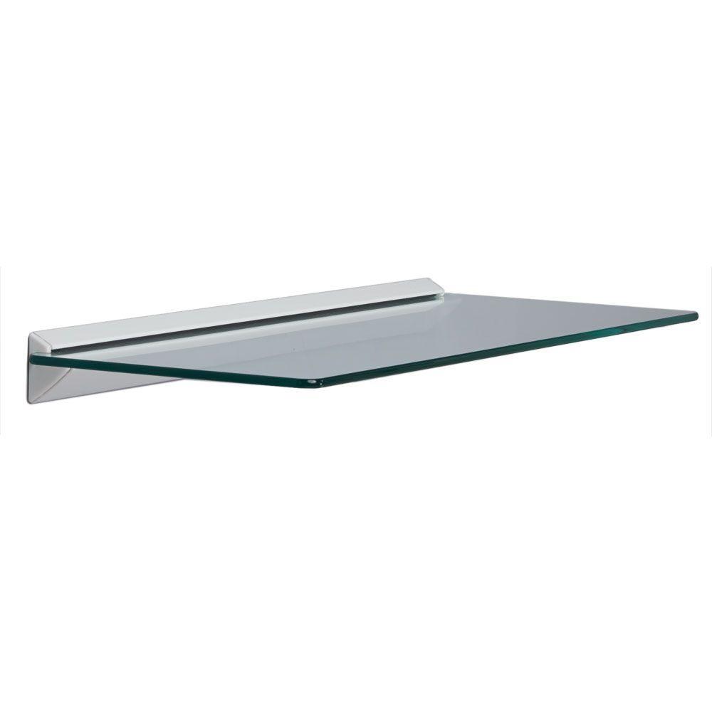 Glass Shelves Shelf Brackets Storage Organization The In Smoked Glass Shelf (View 2 of 12)