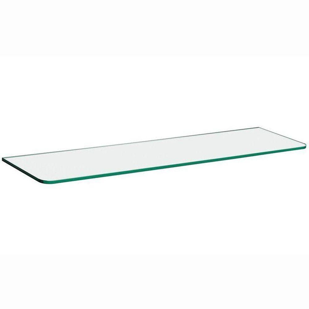Glass Shelves Shelf Brackets Storage Organization The With Regard To Glass Shelves (#6 of 12)