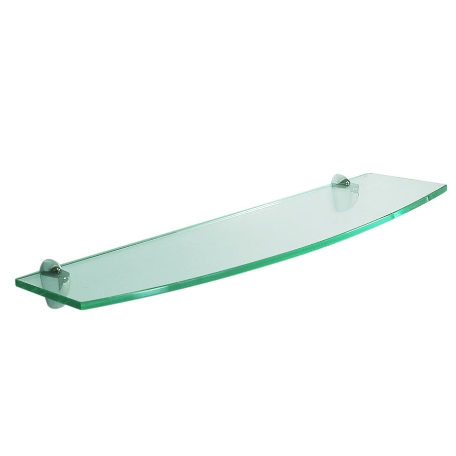 Glass Wall Shelves Glass Wall Shelf Bracket For Glass Shelfglass With Smoked Glass Shelf (#7 of 12)