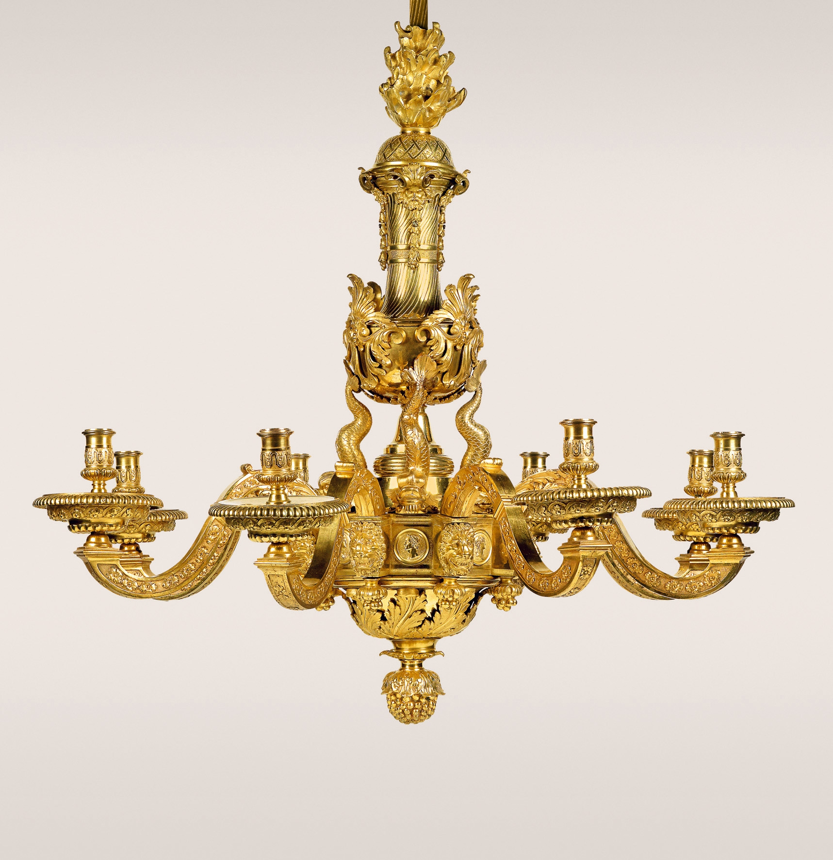 Golden Autumn 12th 14th October 2010 Auction Week With Old Pertaining To Egyptian Chandelier (View 6 of 12)