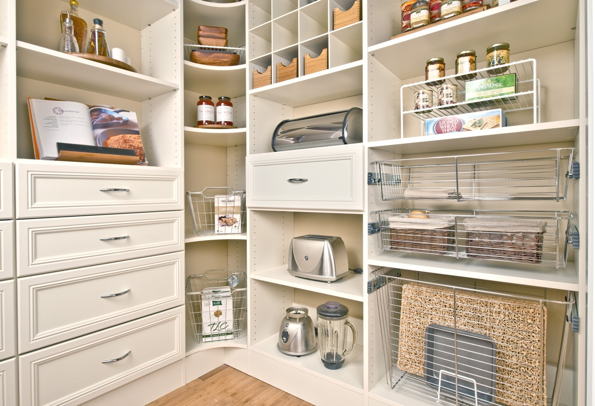 Good Walk In Pantry Shelving Systems Homesfeed Intended For Home Shelving Systems (#9 of 15)
