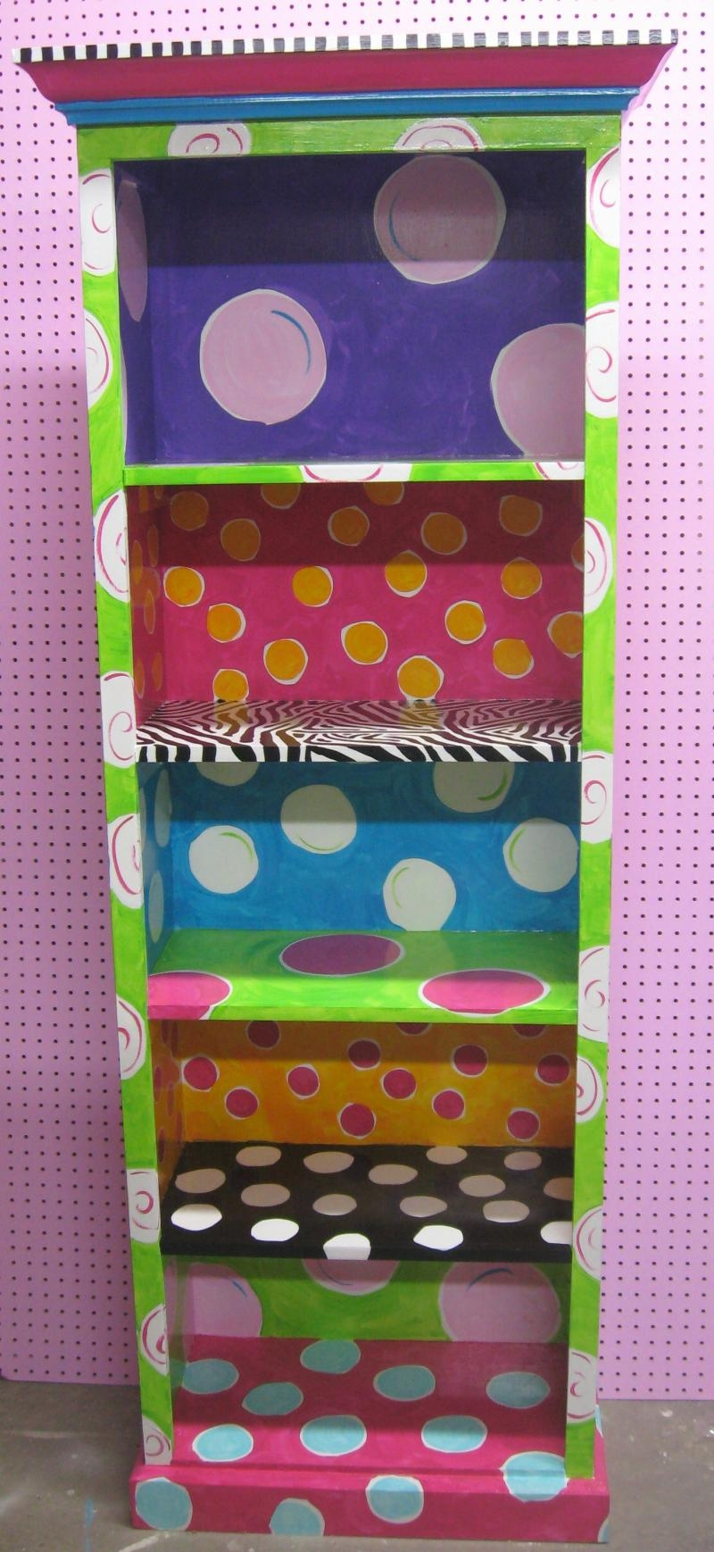 Google Image Result For Httpchristysfunkyfurniture Throughout Hand Painted Bookcase (#11 of 15)