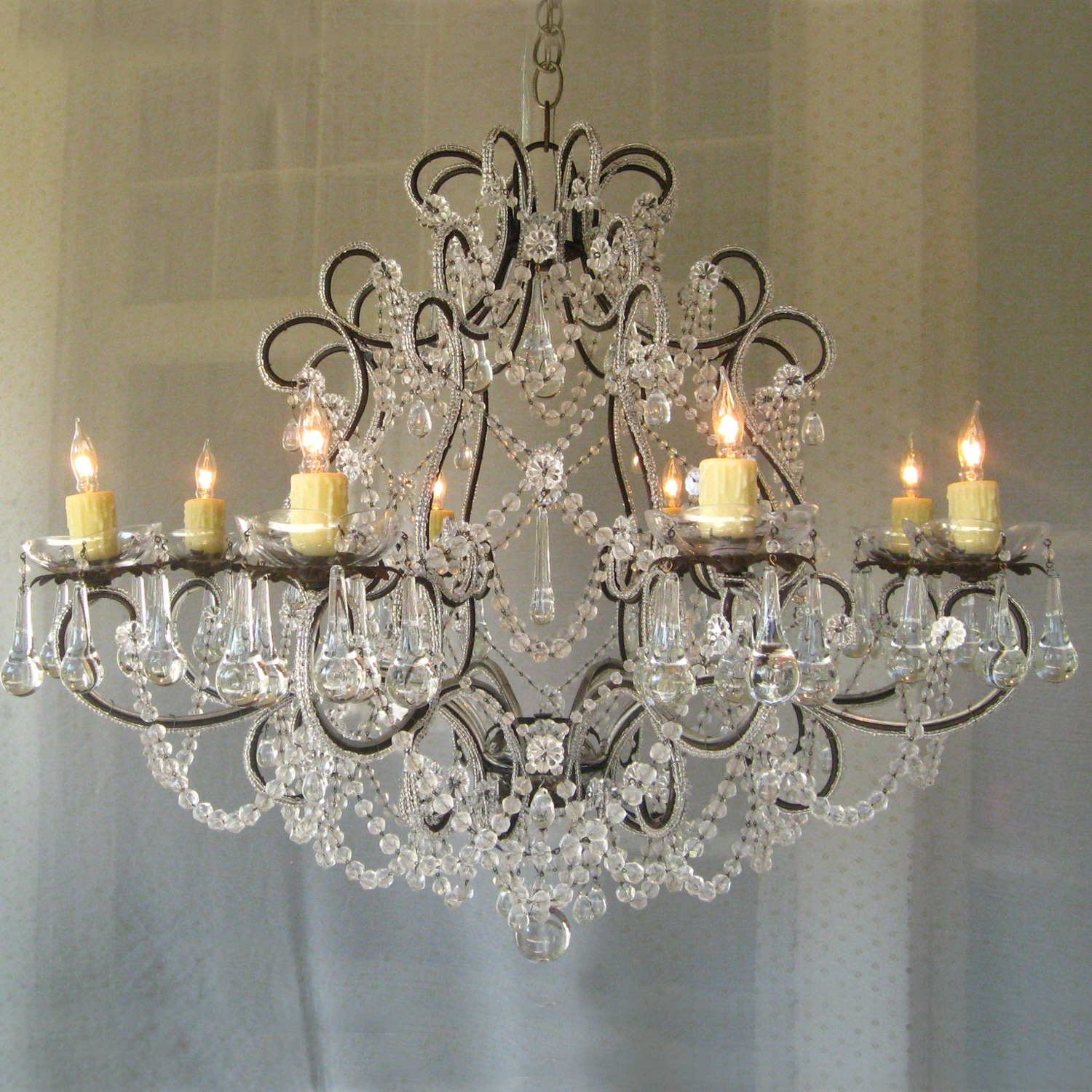 Great Shab Chic Chandelier About Small Home Decor Inspiration For Small Shabby Chic Chandelier (#8 of 12)