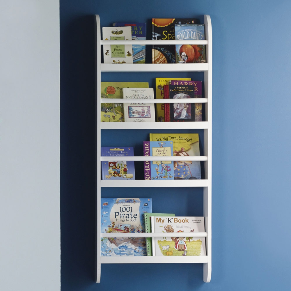 Greenaway Gallery Bookcase Skinny Bookcases Bookshelves Within Childrens Bookcases (#10 of 15)