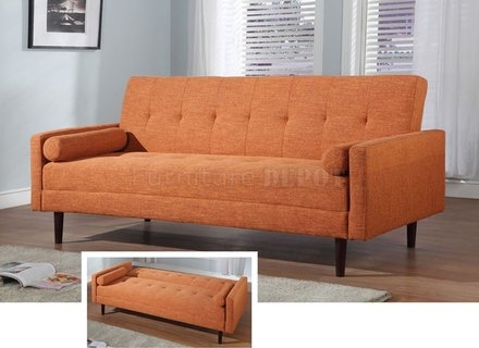 Grey Convertible Sofa With Solid Beechwood Legs 1960s Design With Sofa Convertibles (#9 of 15)