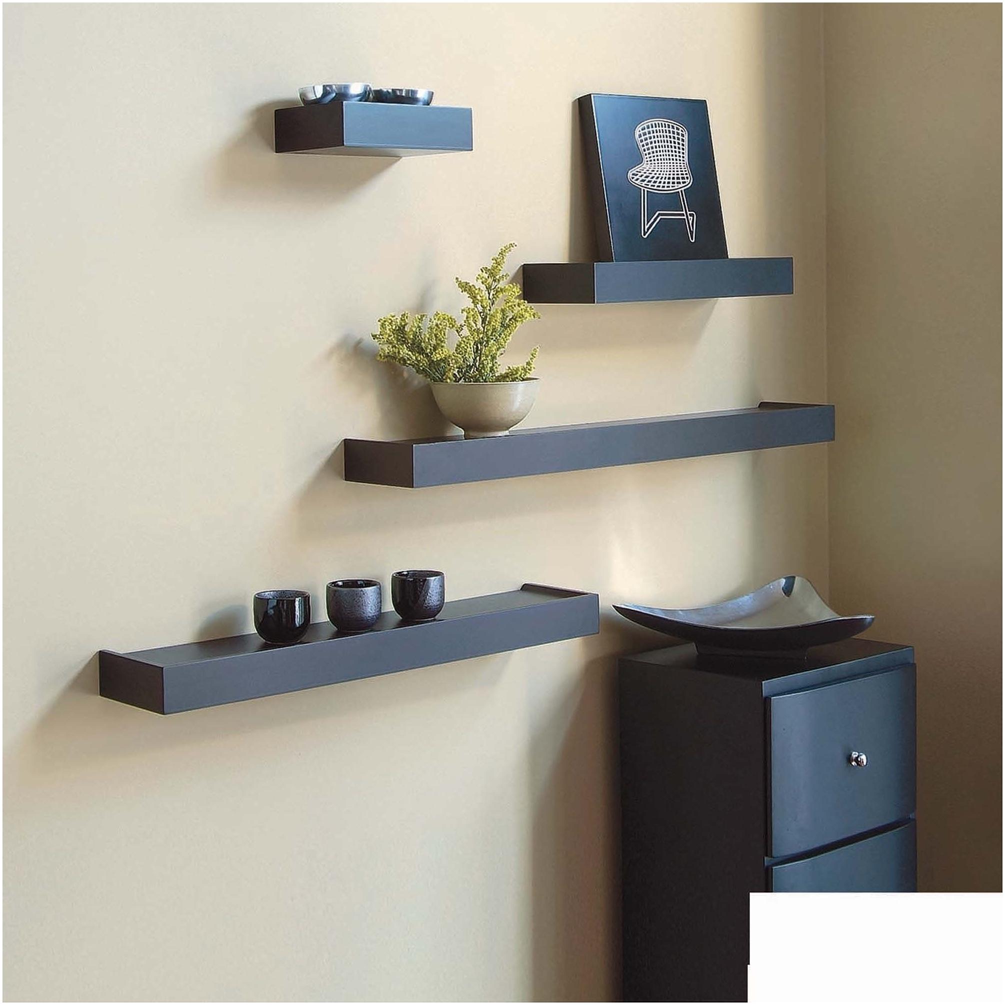 Grundtal Corner Wall Shelf Unit Wooden Corner Shelves Furniture With Tv Corner Shelf Unit (#7 of 15)