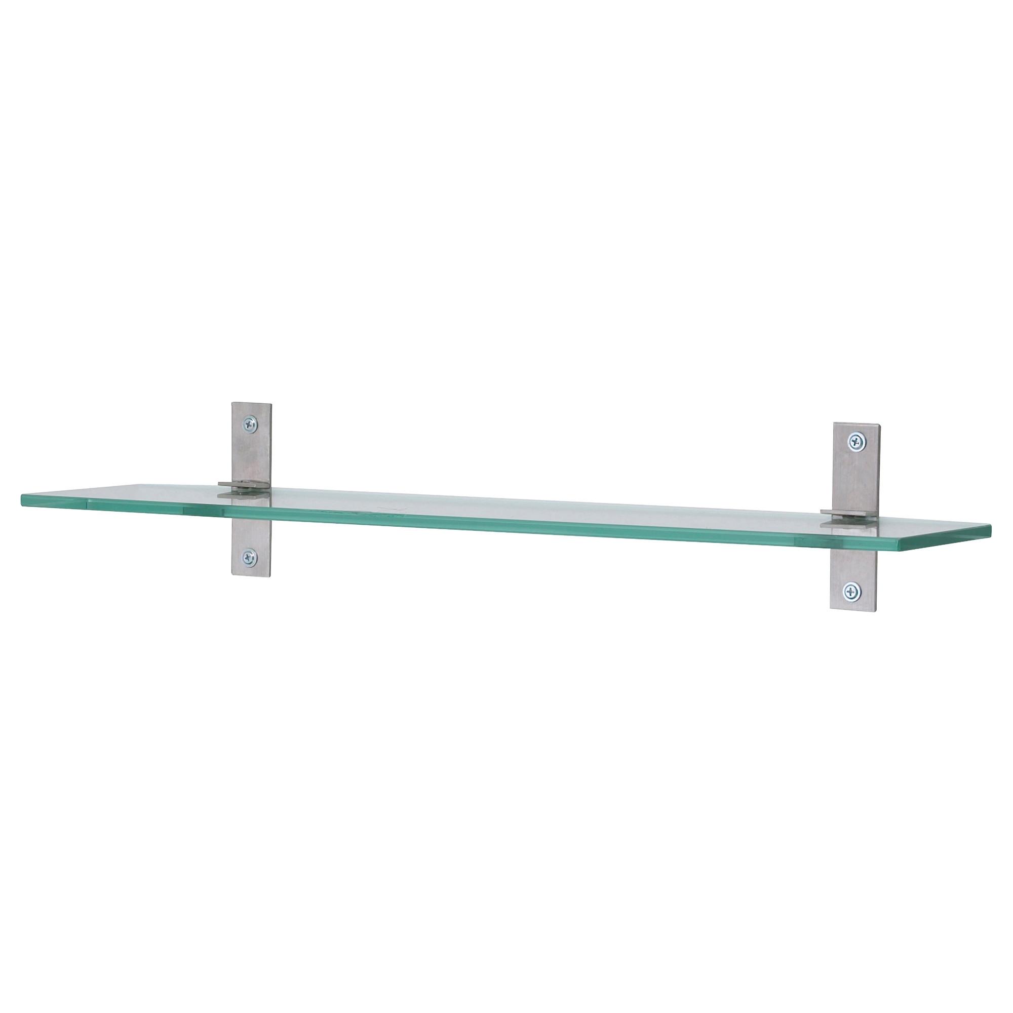 Grundtal Glass Shelf 23 58 Ikea Within Smoked Glass Shelf (View 5 of 12)