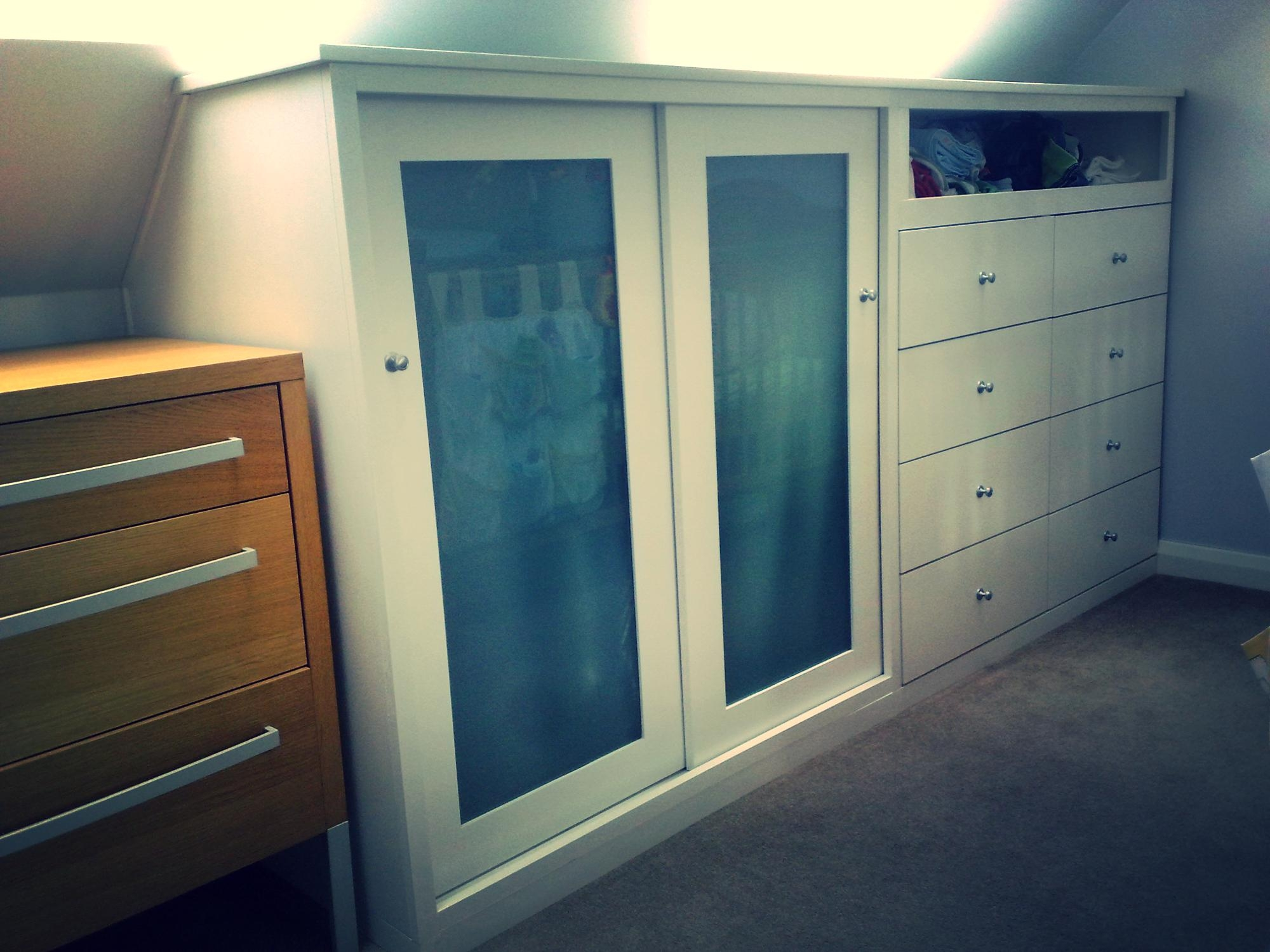 Half Height Wardrobe Client Nb Home Pinterest Wardrobes In Fitted Wooden Wardrobes (View 12 of 15)