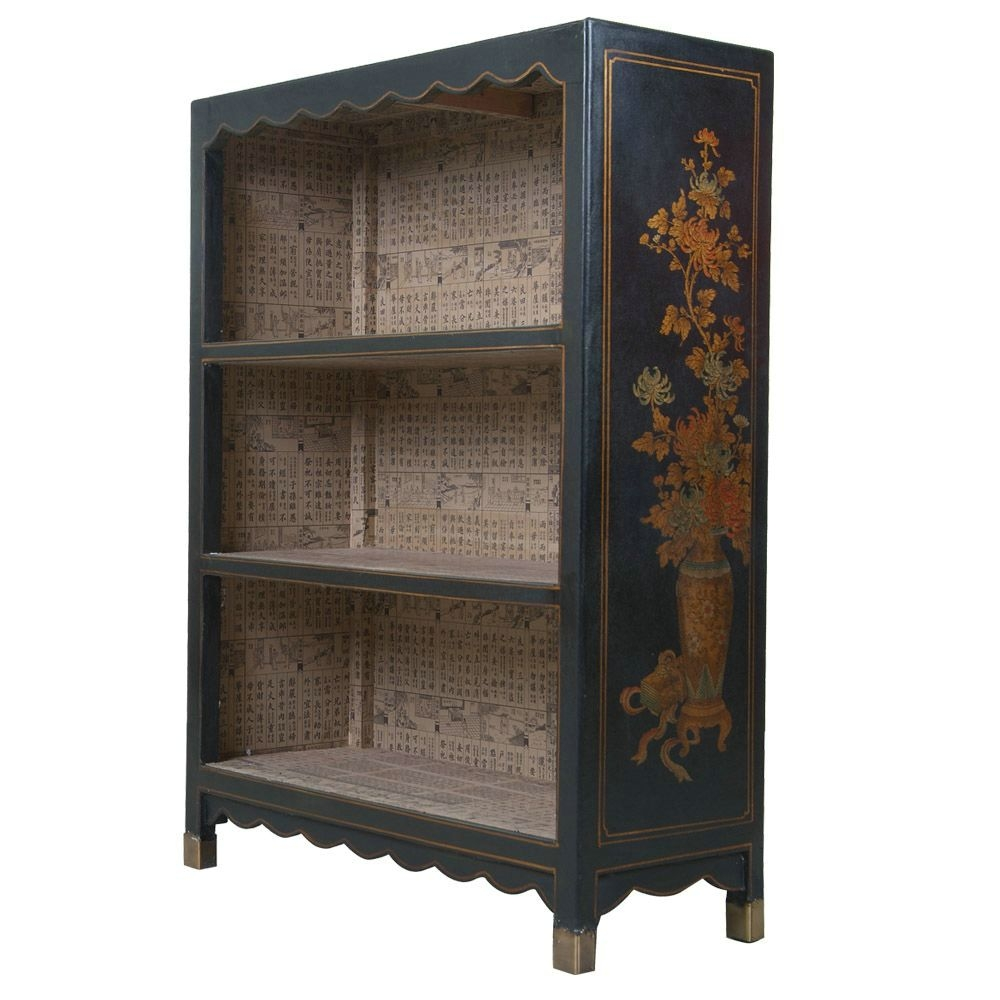 Popular Photo of Hand Painted Bookcase