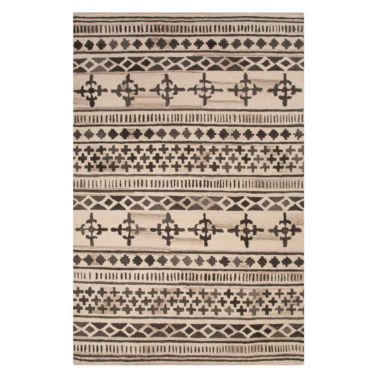 Hand Tufted Wool Area Rug Trnk Intended For Wool Area Rugs (#6 of 15)
