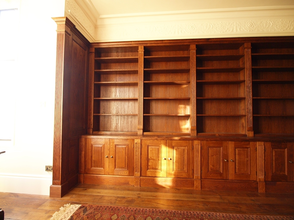 Handmade Bookcases Home Studies In Hardwood Hidden Door Within Handmade Bookcases (#10 of 15)