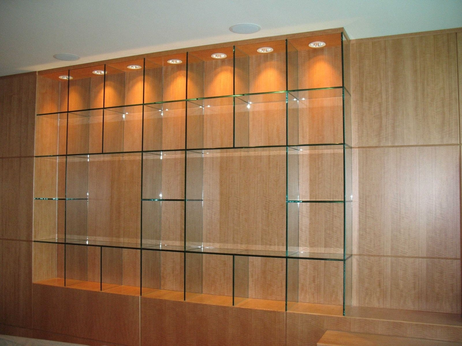 Handmade Glass Shelves Knock On Glass Custommade With Glass Shelves (#8 of 12)
